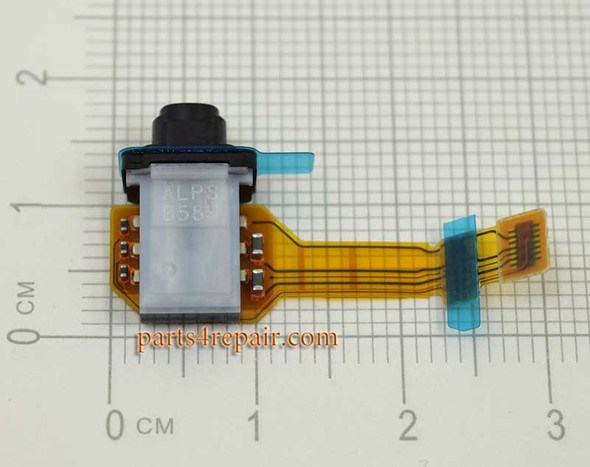 Earphone Jack Flex Cable for Sony Xperia Z5 Premium from www.parts4repair.com