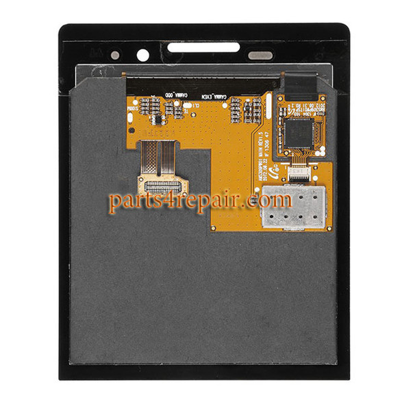 We can offer complete screen assembly for Blackberry p9983.