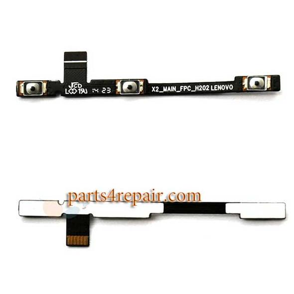 Side Key Flex Cable foe Lenovo Vibe X2