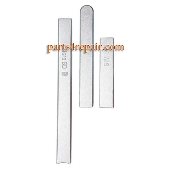 Micro SD Cover & USB Cover & SIM Cover for Sony Xperia Z3V