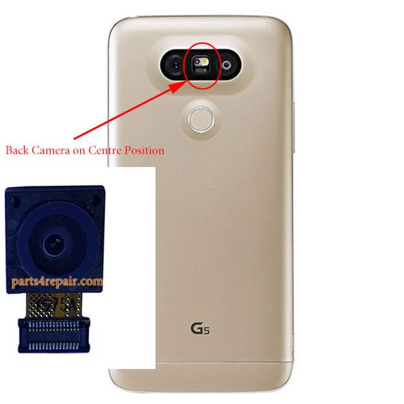 Back Camera on the Center Position for LG G5