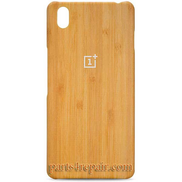 Bamboo Wood Back Cover For OnePlus X