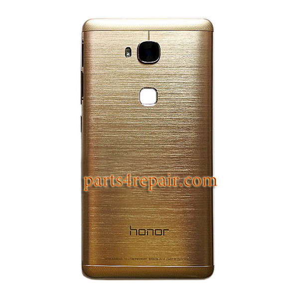 Back Cover with Side Keys for Huawei Honor 5X from www.parts4repair.com