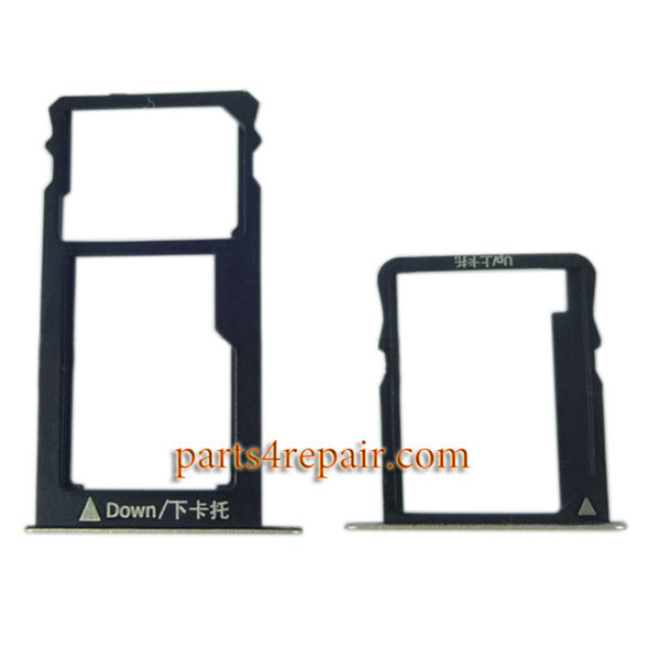 A Pair SIM Trays for Huawei Honor 5X from www.partsp4repair.com