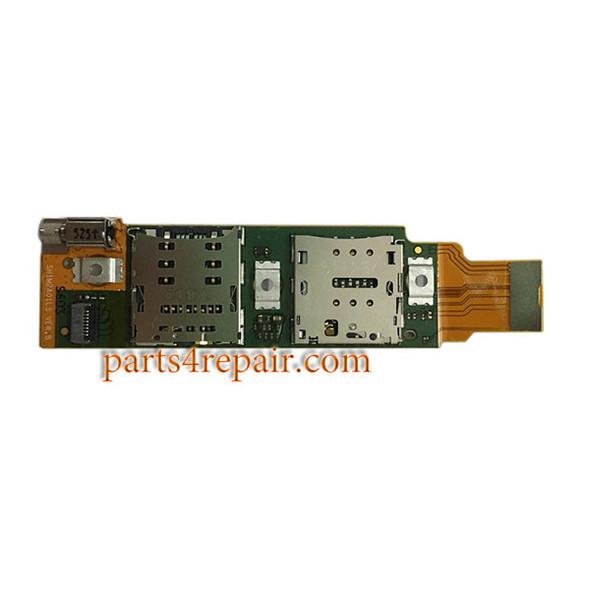 SIM Connector Flex Cable for Huawei MediaPad M2 10.0