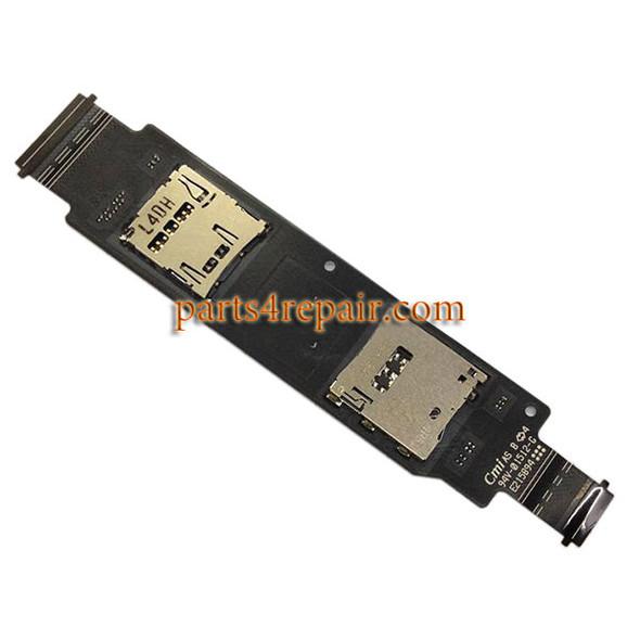 SIM Connector Flex Cable for Asus Zenfone 2 ZE500CL