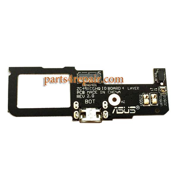 Dock Charging PCB Board for Asus Zenfone C ZC451CG