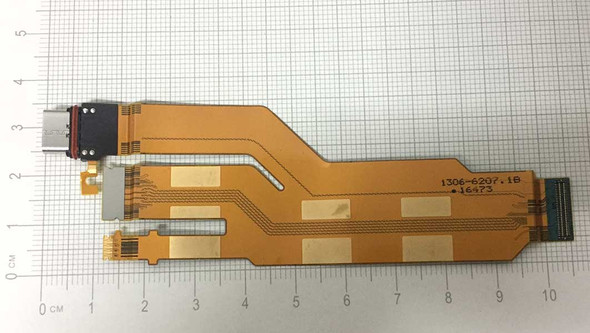 LCD Connector Flex Cable for Sony Xperia XZ F8332