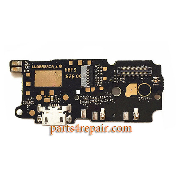 Dock Charging PCB Board for Xiaomi Redmi Note 4 from www.parts4repair.com