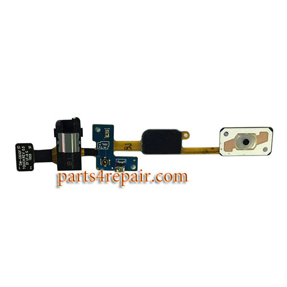 Earphone Jack Flex Cable for Samsung Galaxy On7 (2016) from www.parts4repair.com