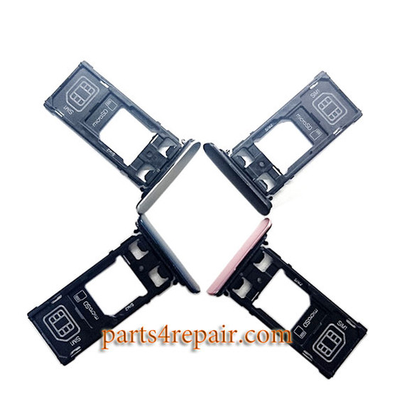 Dual SIM Tray with Cap for Sony Xperia XZ