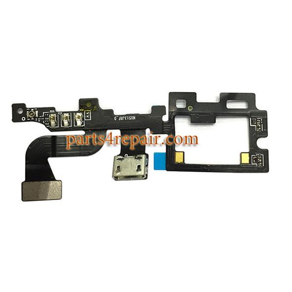Dock Charging Flex Cable for ZTE Nubia My Prague NX513J