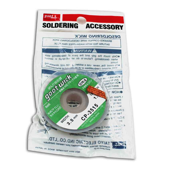 Various Specification Goot Wick BGA Desoldering Wire Remover Wick Soldering Accessory