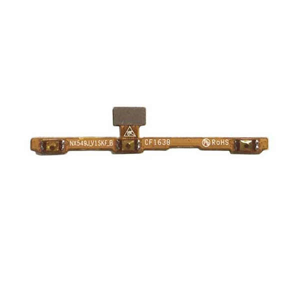 Side Key Flex Cable for ZTE Nubia Z11 mini s NX549J from www.parts4repair.com
