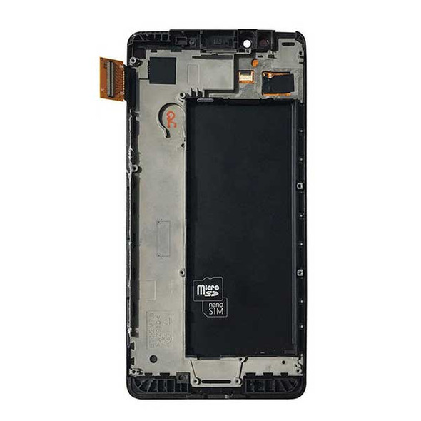 Complete Screen Assembly with Bezel for Microsoft Lumia 950