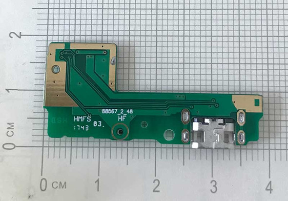 Dock Charging PCB Board for Xiaomi Redmi 5 from www.parts4repair.com