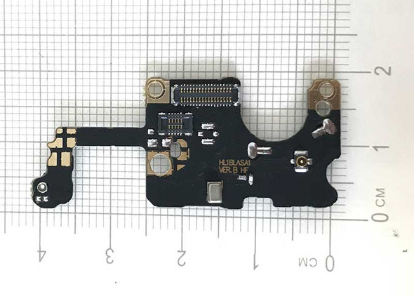 Mic Speaker PCB Board for Huawei Mate 10 Pro from www.parts4repair.com