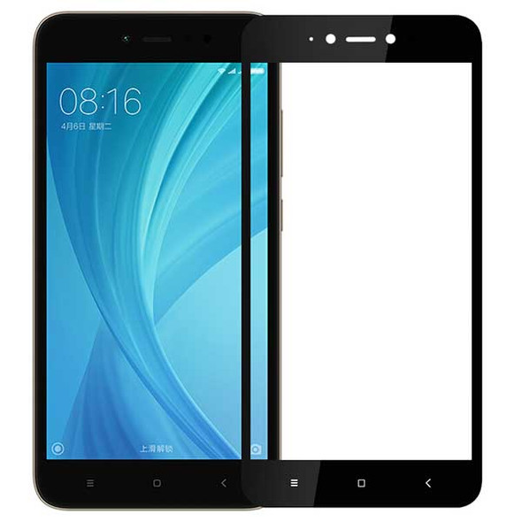 Full Cover Premium Tempered Glass Screen Protector for Xiaomi Redmi Y1 Lite