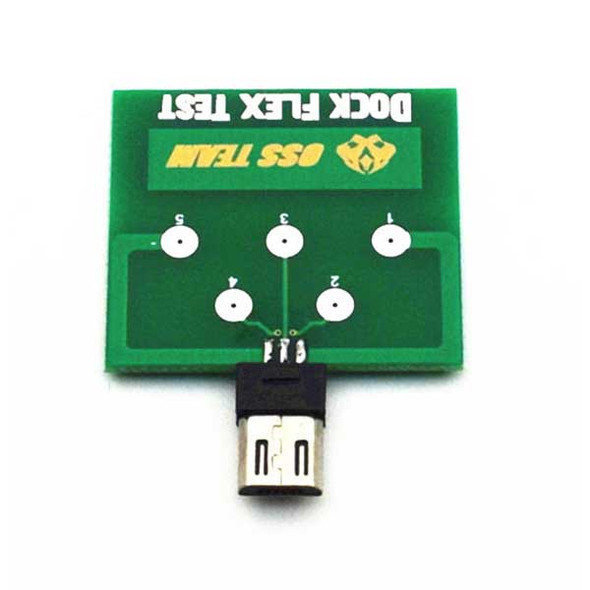 Micro USB Dock 5 Pin Test Board for Android Phone