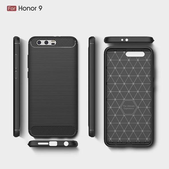 Carbon Fiber TPU Protector Case for Huawei Honor 9