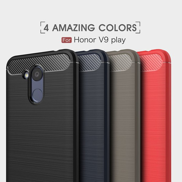 Carbon Fiber TPU Protector Case for Huawei Honor 6C Pro