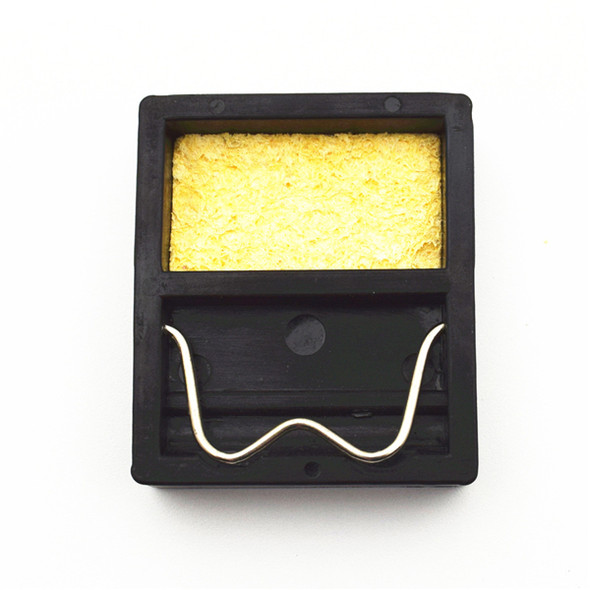 Mini Soldering Iron Stand Holder with Solder Sponge