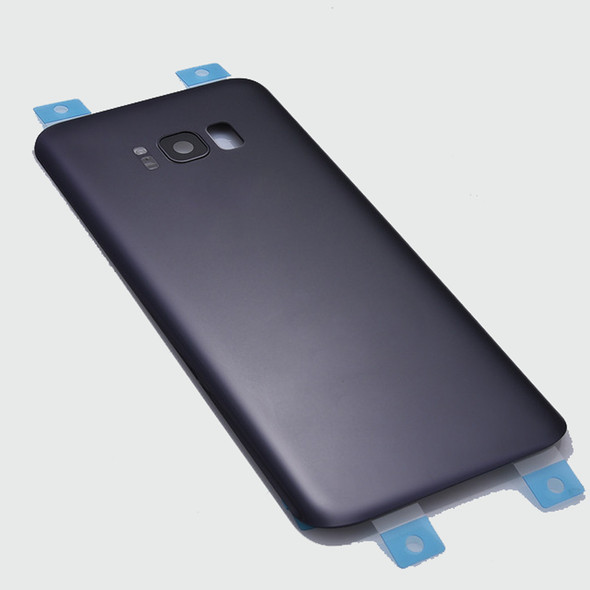 Back Glass Cover  + Camera Cover + Camera Lens + Adhesive for Samsung Galaxy S8+ All Versions