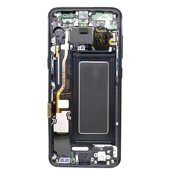 LCD Screen and Digitizer Assembly with bezel for Samsung Galaxy S8 G950