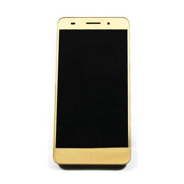 Complete Screen Assembly with Bezel for Huawei Honor 5A -Gold