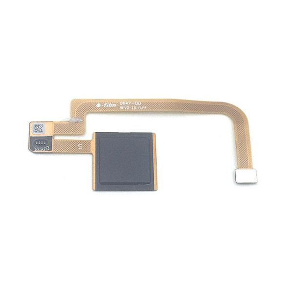 Fingerprint Sensor Flex Cable for Xiaomi Mi Max 2 Black Front View