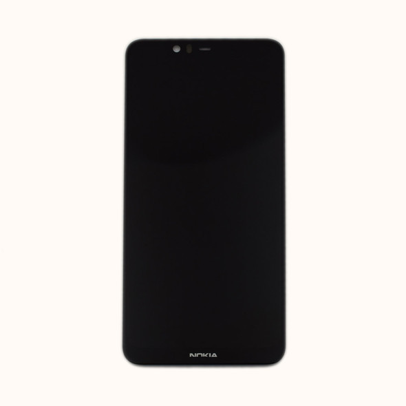 Nokia 5.1 Plus LCD Screen and Digitizer Assembly Black