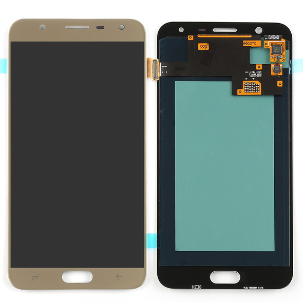 Samsung Galaxy J7 Duo LCD Screen and Digitizer Assembly Gold