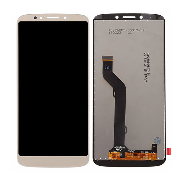 Motorola Moto E5 Plus XT1924 LCD Screen and Digitizer Assembly Gold