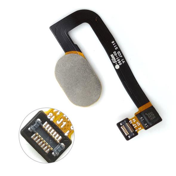 Motorola Moto G5s Plus Touch ID Flex Cable Black