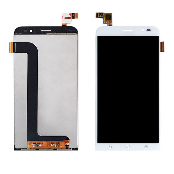 Complete Screen Assembly for Asus Zenfone Go ZB552KL White from www.parts4repair.com