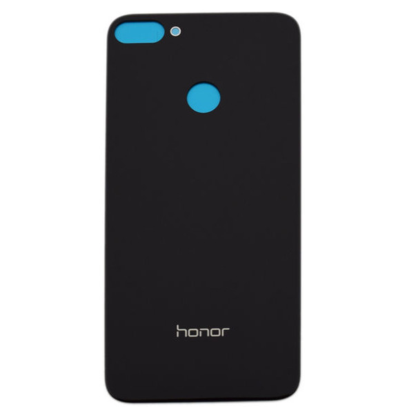Generic Back Glass with Adhesive for Huawei Honor 9N Black