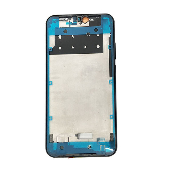 Huawei P20 Lite Front Housing with Side Keys Black