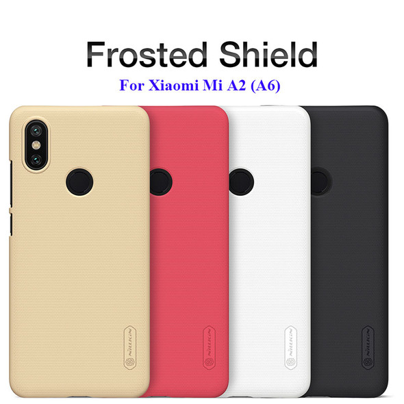 Frosted Shield Hard Back Case for Xiaomi Mi A2 (6X)