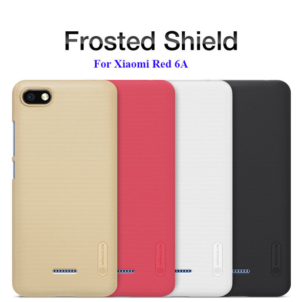 Frosted Shield Hard Back Case for Xiaomi Redmi 6A