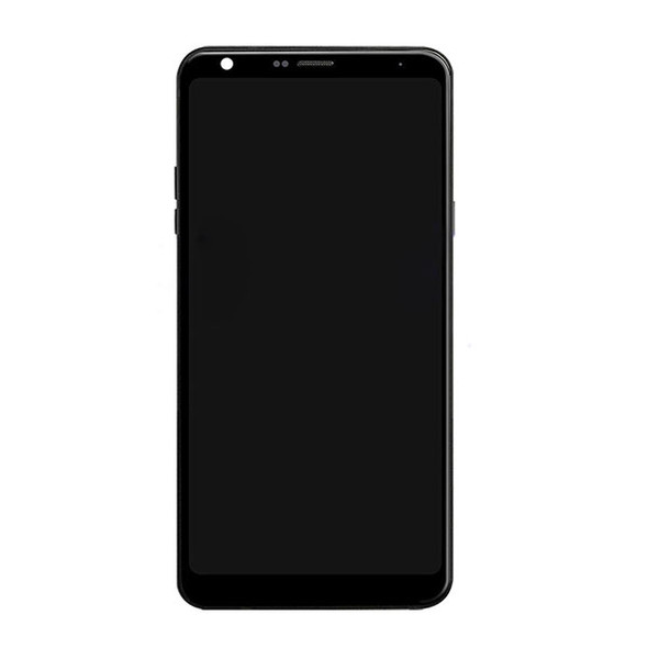 LG Q Stylus / Stylus+ LCD Screen and Digitizer Assembly with Frame Black