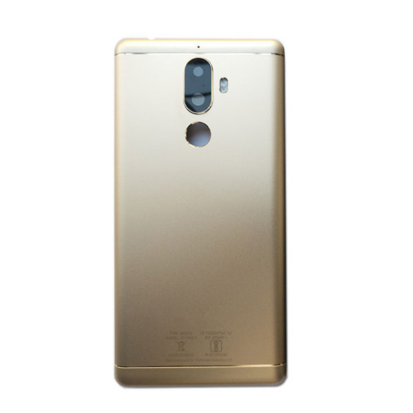 Lenovo K8 Note Back Housing Cover with Camera Lens Gold