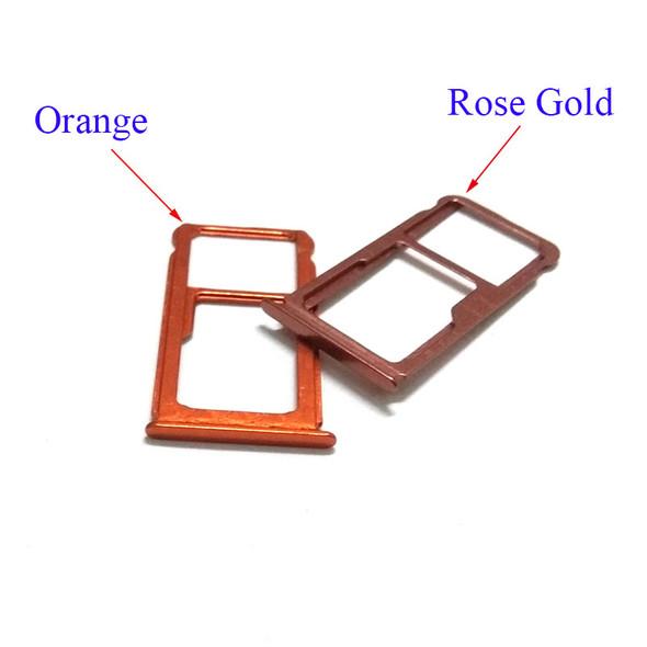 Nokia 7 Plus SIM Tray Orange