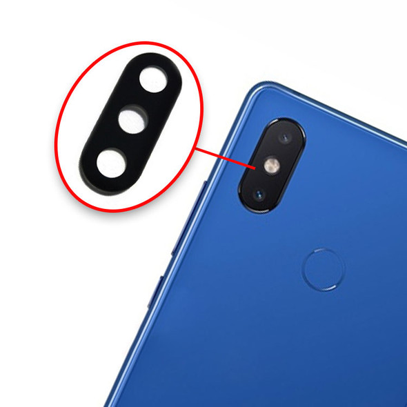 Xiaomi Mi 8 SE Camera Glass Lens with Adhesive from www.parts4repair.com