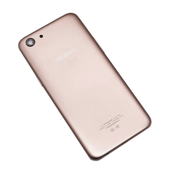 Oppo A83 Back Housing with Camera Lens Side Keys Gold