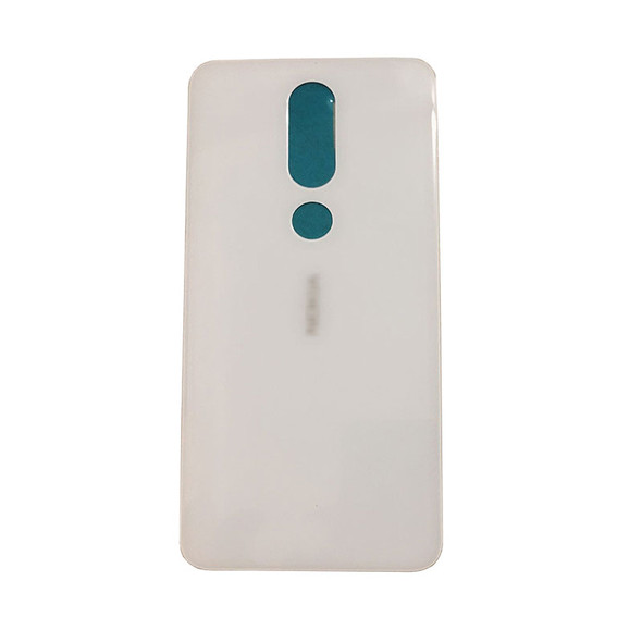 Nokia 6.1 Plus (X6) Back Glass Cover with Adhesive from www.parts4repair.com