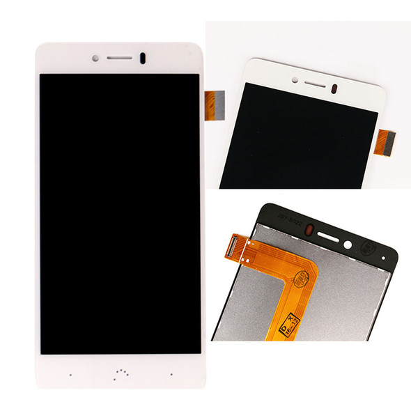 BQ Aquaris U LCD Screen Digitizer Assembly White