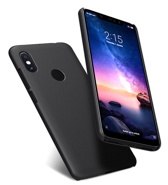 Frosted Shield Hard Back Case for Xiaomi Redmi Note 6 Pro