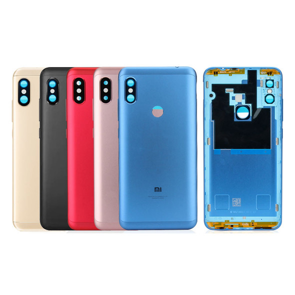 Xiaomi Redmi Note 6 Pro Back Housing with Side Keys from www.parts4repair.com