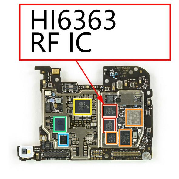 Huawei P20 Pro RF IC HI6363 from www.parts4repair.com