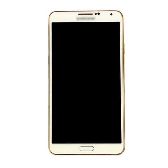 Complete Screen Assembly with Bezel for Samsung Galaxy Note 3 N9005 -Gold